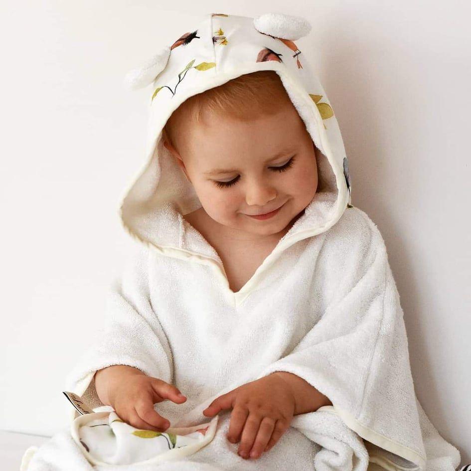 Layette Παιδικό Μπουρνούζι Poncho Sunshine