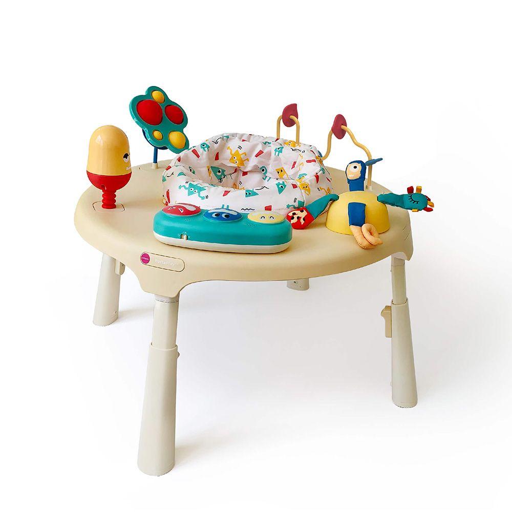 Σετ κάθισμα και τραπέζι δραστηριοτήτων - Wonderland Adventures Μπεζ