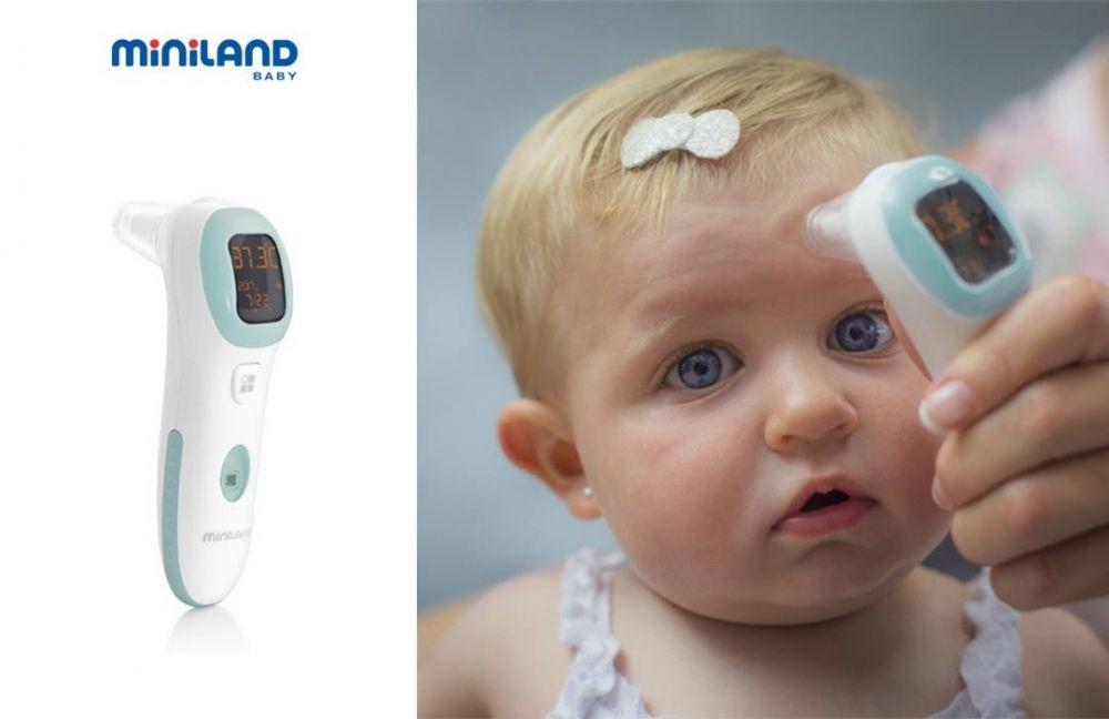 Miniland Θερμόμετρο πολλαπλών λειτουργιών Thermo Talk Plus