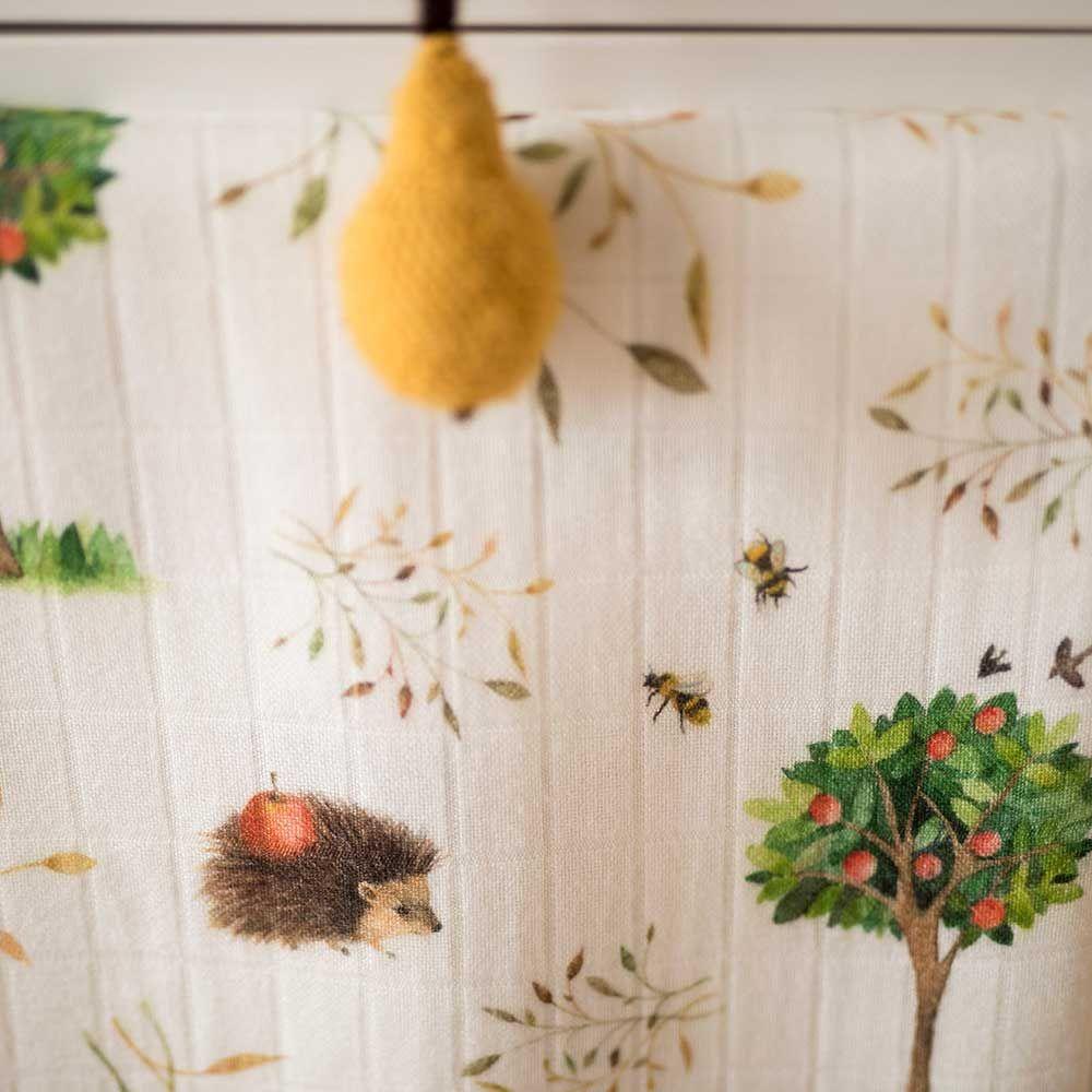 Layette Μουσελίνες (σετ 2 τμχ) Orchard