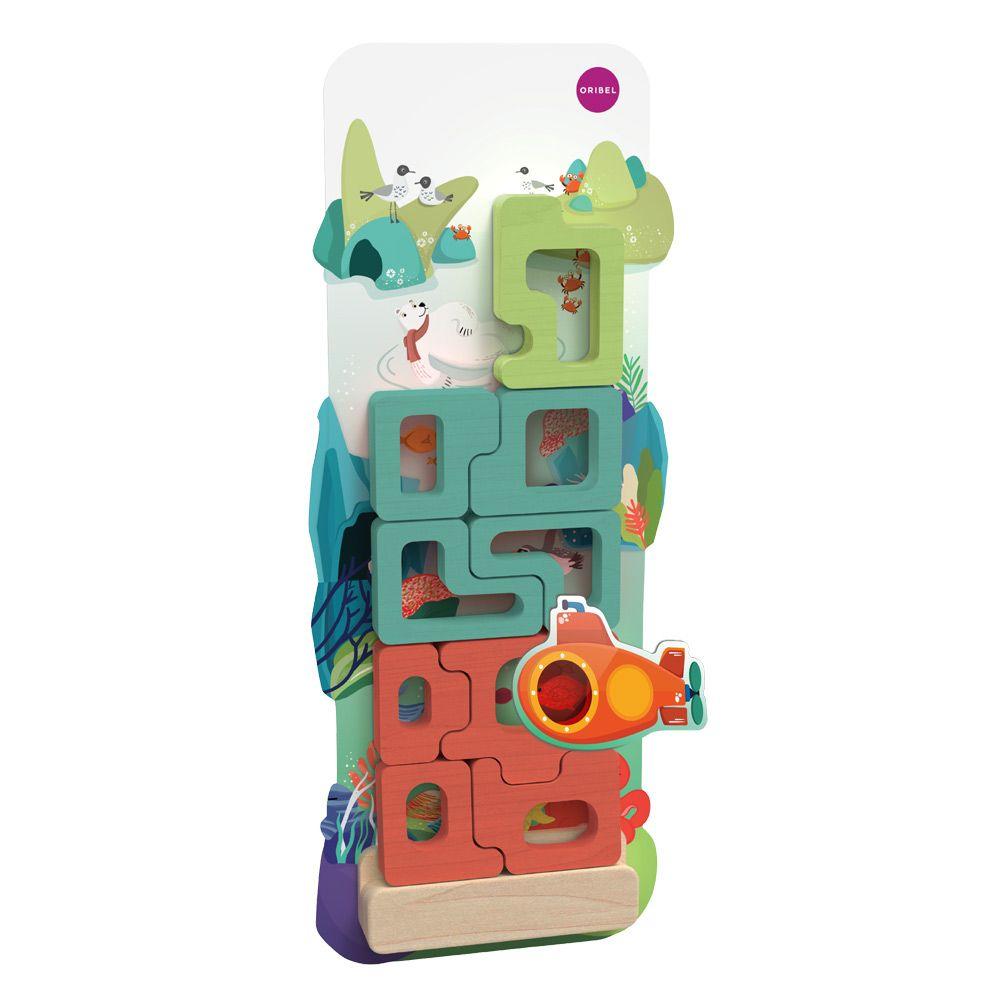 Ξύλινο παζλ Tetris Mystical Aquarium
