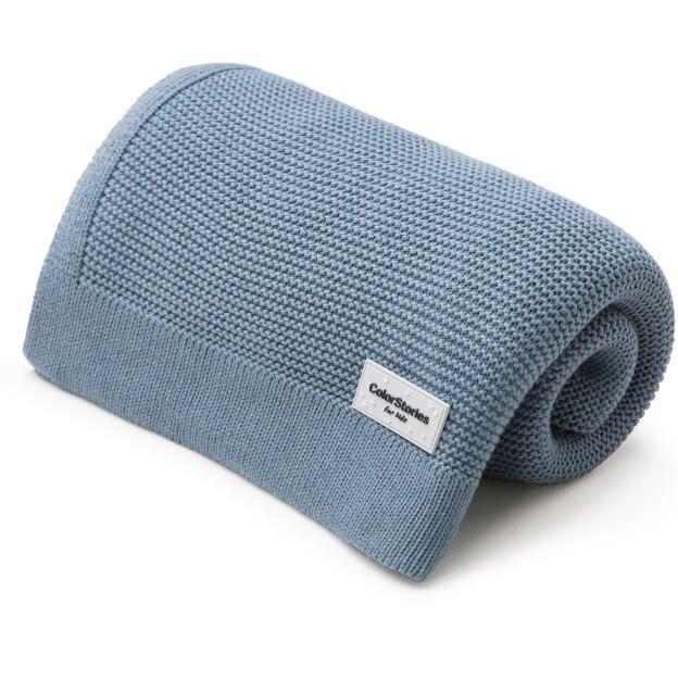 Κουβέρτα πλεκτή Denim