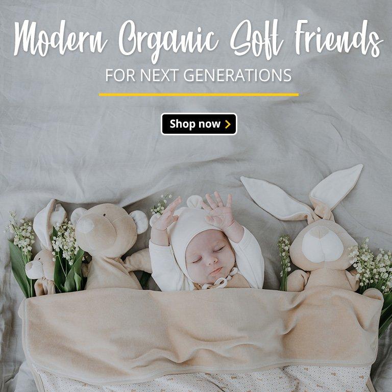 Modern Organic Soft Friends