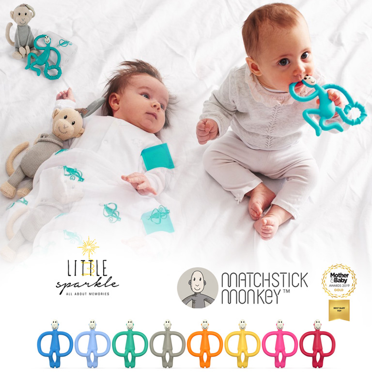 Matchstick Monkey Teethers